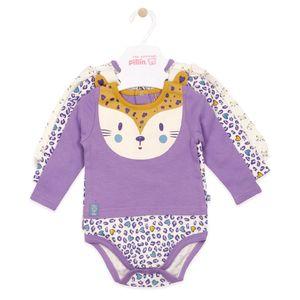 Body Bebé Niña Pack De 3